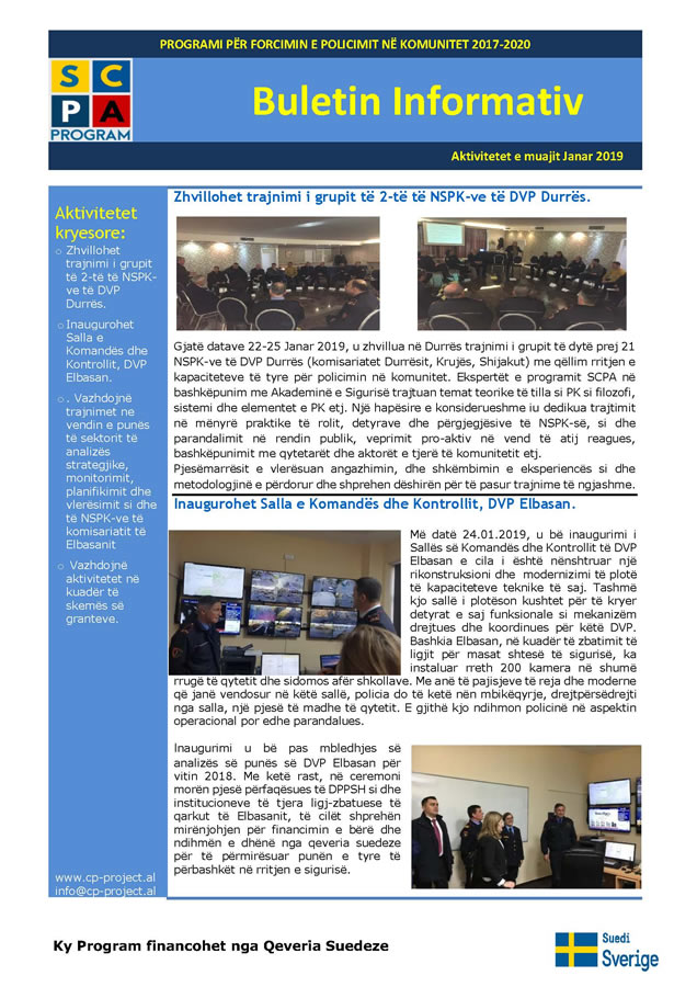 Buletini informativ Janar 2019 EMP