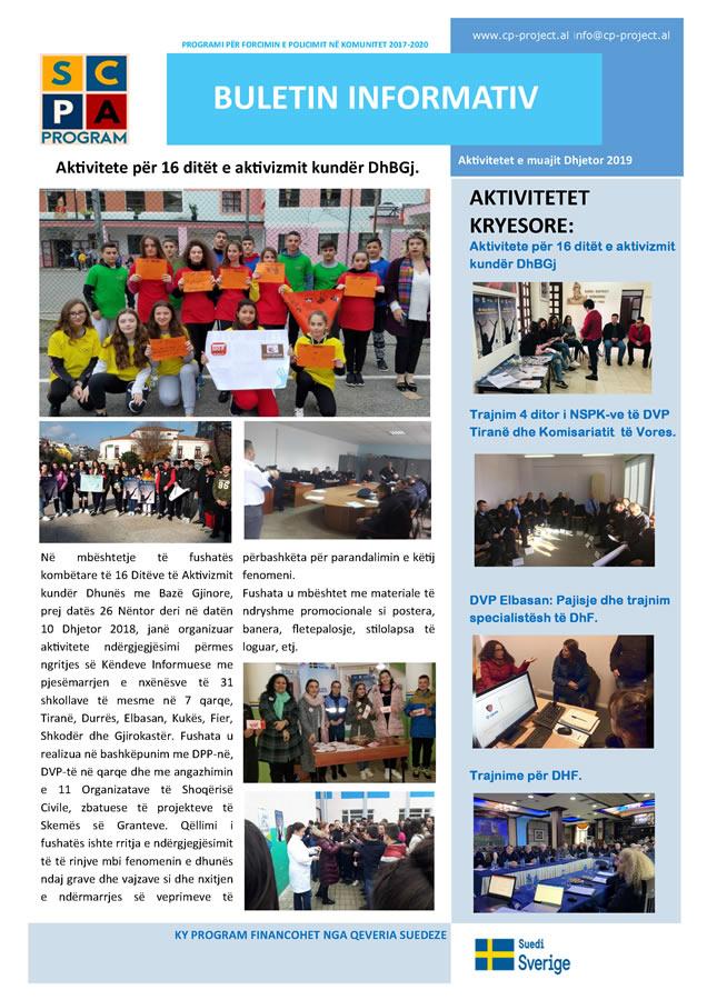 Buletini informativ Dhjetor 2019